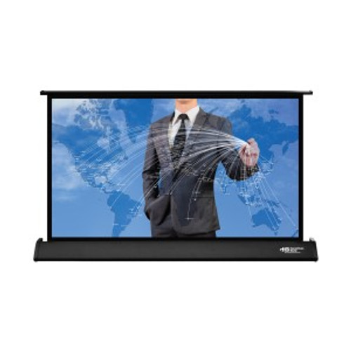 """HamiltonBuhl 30"""" Diag. (15''x26'') Tabletop Projector Screen, HDTV Format, Matte White Fabric"""