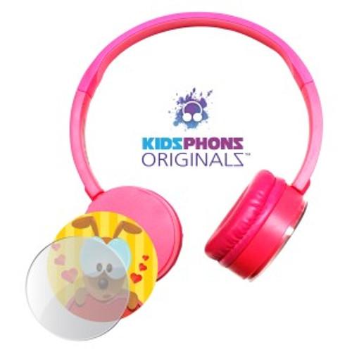 KidzPhonz Originalz Headphone - Pink