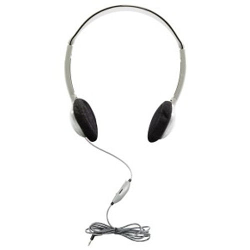 HamiltonBuhl SchoolMate On-Ear Stereo Headphone with in-line Volume