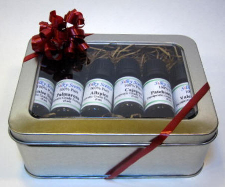 Gift Box #4 (6 Pack, 5 ml each with Box)