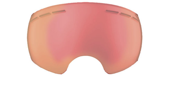 Clear Red Mirrored Lens - Good for Overcast, Stormy and Night Riding Conditions