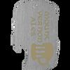 Side slot laser engraved dog tag bottle opener. With mount vernon ales imprint.