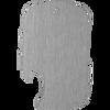 Side slot stainless steel blank bottle opener.