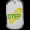 Step Royale custom dog tag