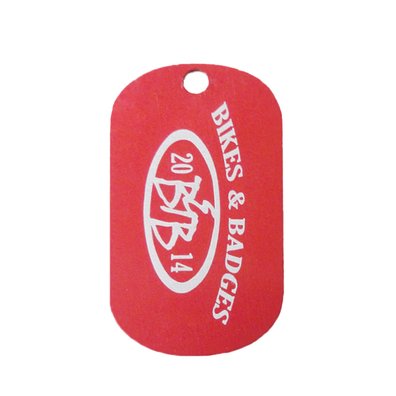 red dog tags