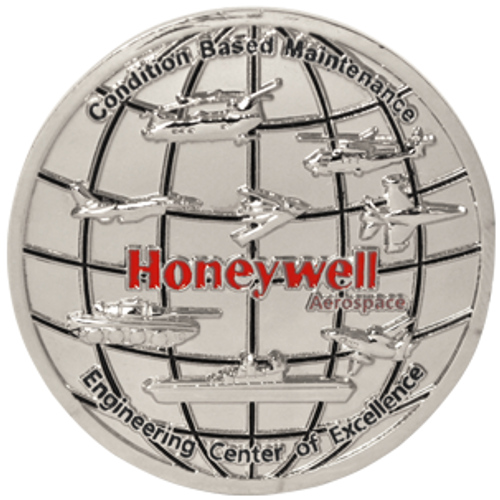Honeywell custom challenge coin.