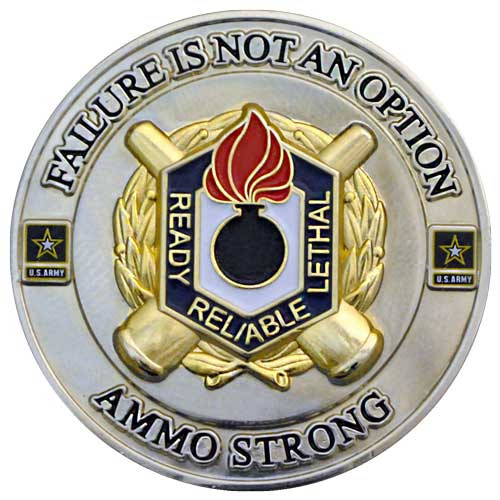 Ammo Strong Custom Challenge Coin