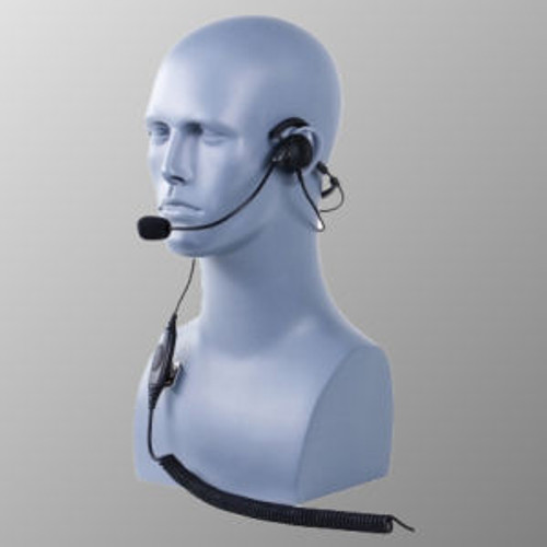 Motorola AN/PRC-153 Behind The Head Single Muff Lightweight Headset