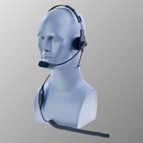 Motorola APX4000 Over The Head Single Muff Lightweight Headset