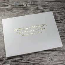Ivory Satin Photo Booth Guest Book