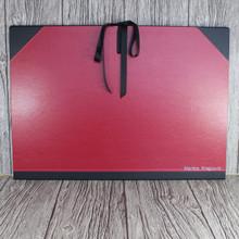 A3 Red & Black Art Portfolio / Cachet Portfolio