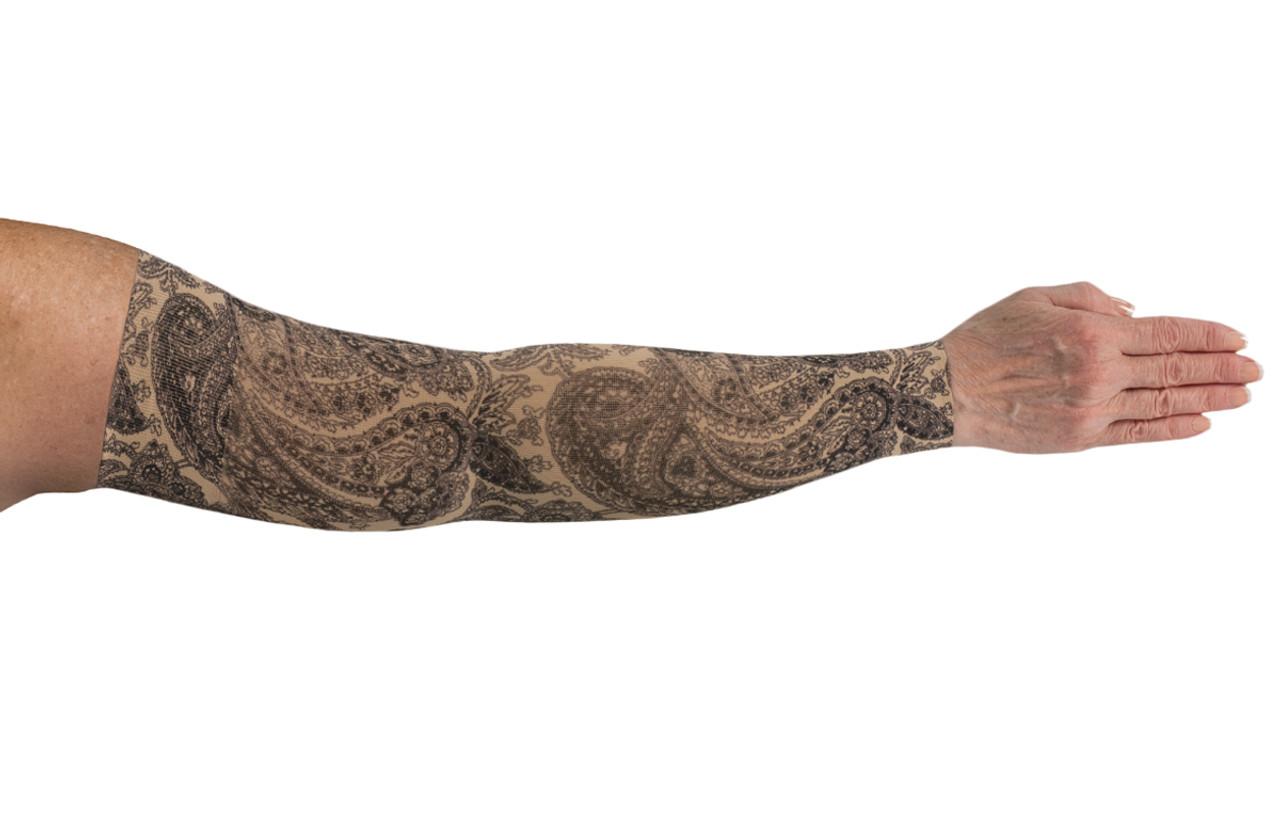 Black Paisley Arm Sleeve