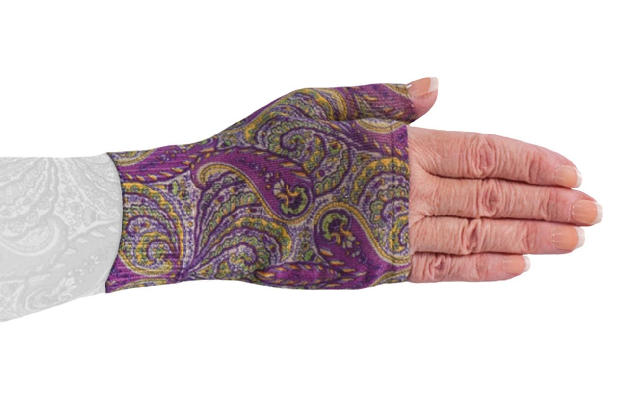 Purple Paisley Gauntlet