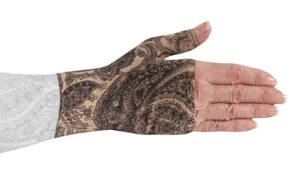 2nd Black Paisley Gauntlet
