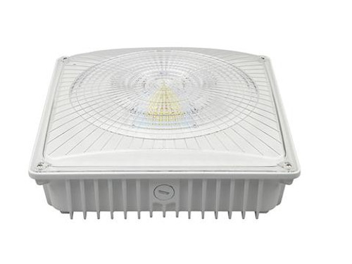 Gas Station Canopy Lights / Under Canopy Lights 75W 8800 Lumen  sc 1 st  Lighting Atlanta & 55W LED Canopy Fixture - Canopy Lights