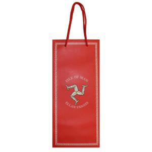 Red 3 Leg Bottle Gift Bag