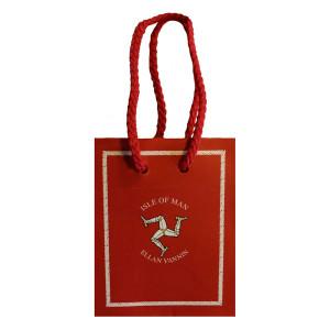 Red 3 Leg Small Gift Bag