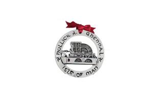 Isle of Man Laxey Wheel Christmas Decoration