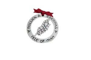 Isle of Man Christmas Decoration