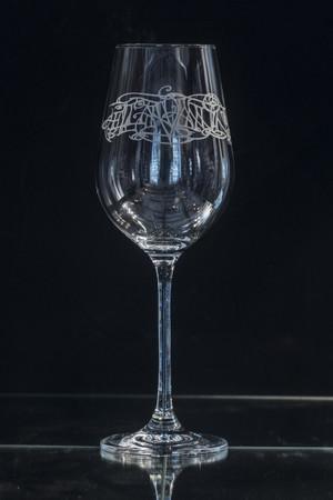 Ellan Vannin Wine Glass