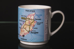 Isle of Man Map Mug