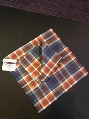 Manx Hunting Tartan Face Flannel