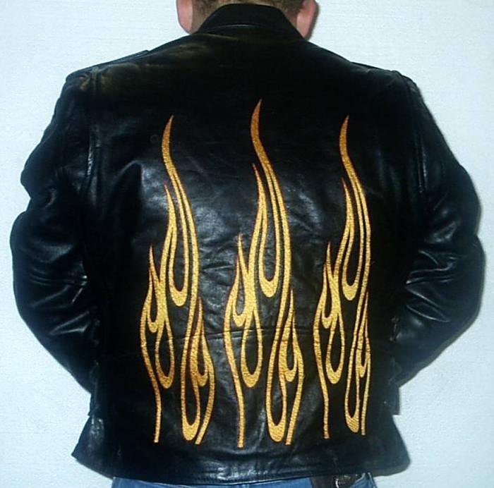 8025F MJ w/Flames