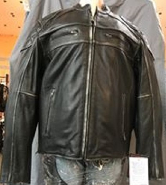 This is an actual picture of the jacket.