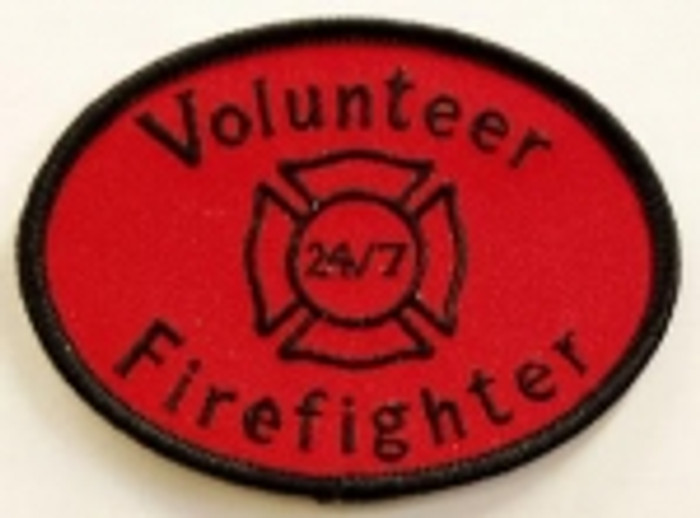 Volunteer Firefighter Patch