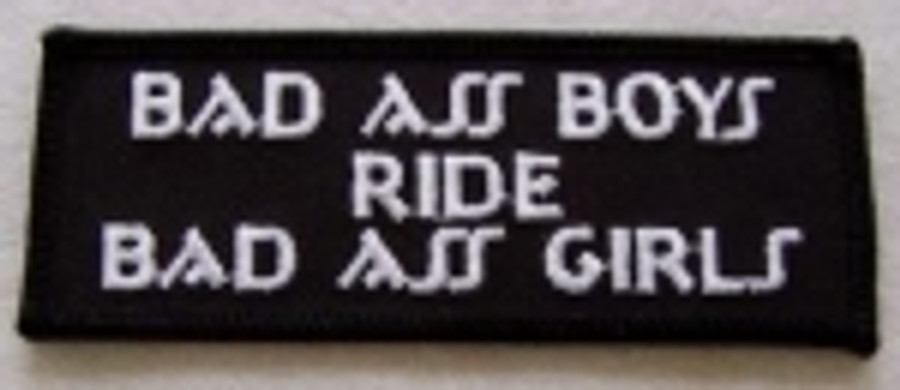 Bad Ass Boys Patch