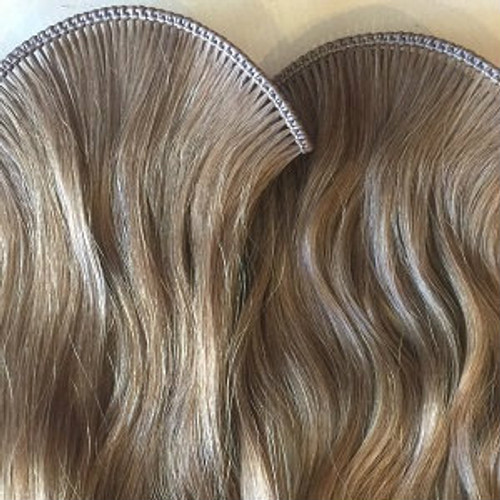 Genuine Russian Hair Double Drawn Hand Tied Wefts