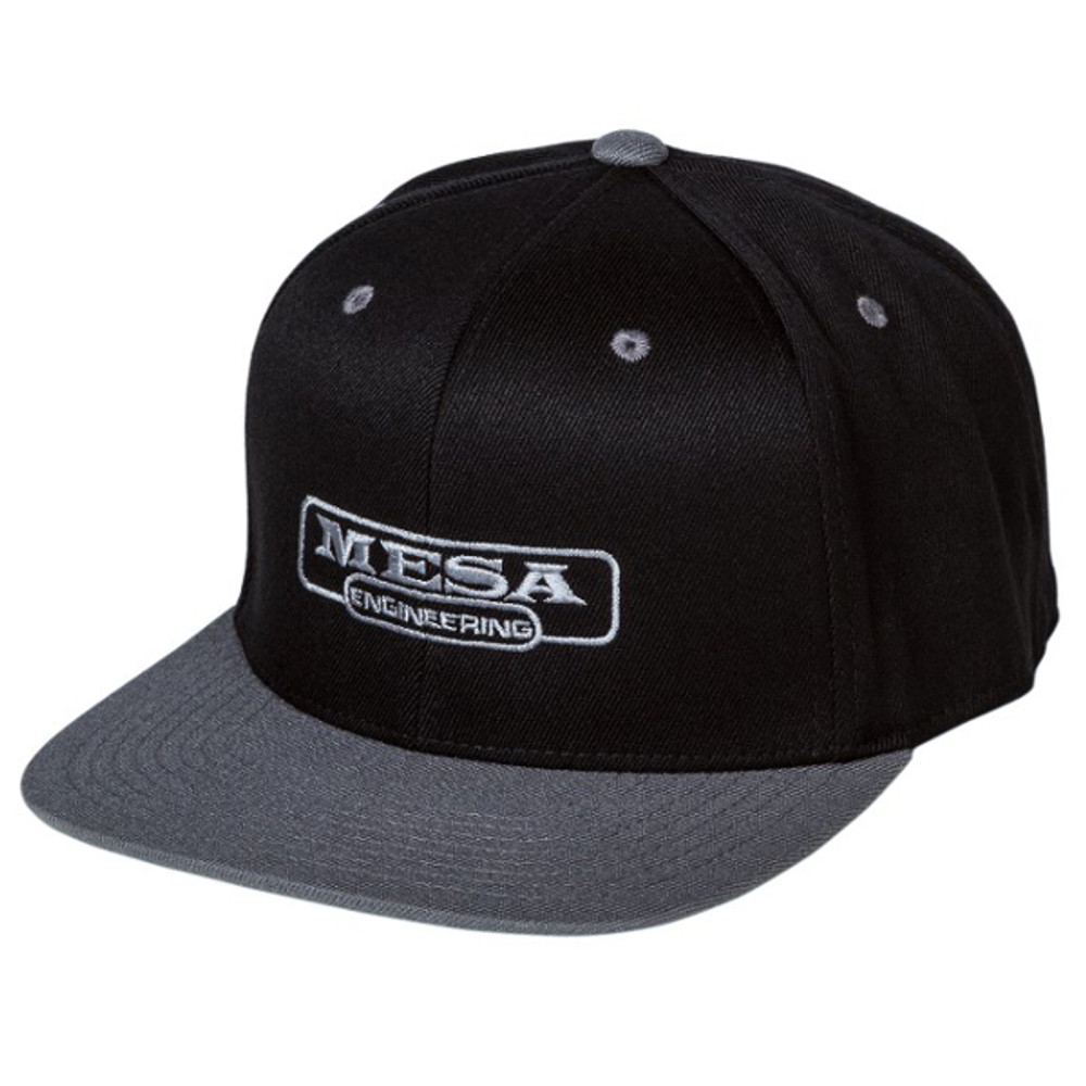 Hat - MESA Engineering - Snapback - Black & Gray