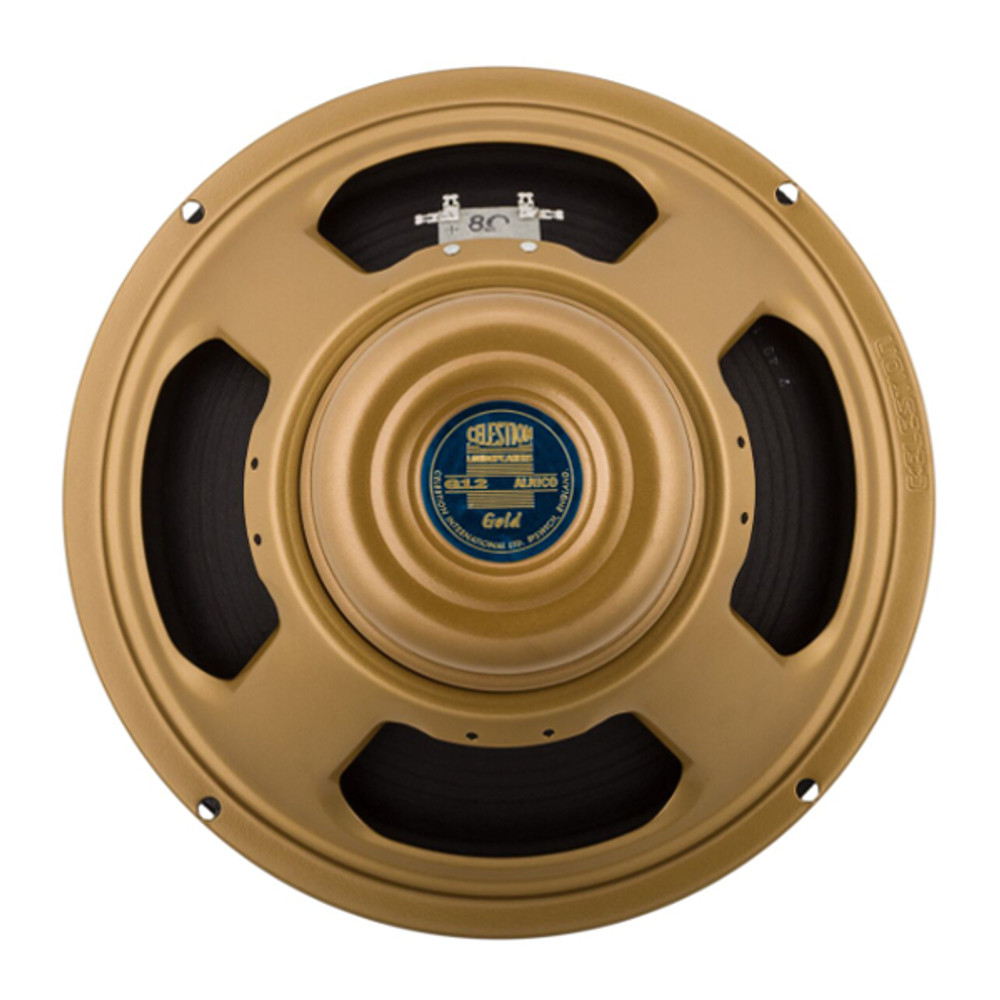 Celestion Gold 50W 12 Inch 8 Ohm Speaker - Rear - Part # 767423