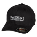 Hat - MESA Engineering - Black Flexfit Brushed Twill