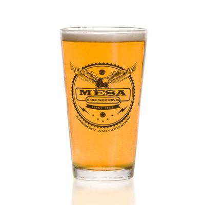 Pint Glass 16 oz. - MESA Engineering - Set of 4