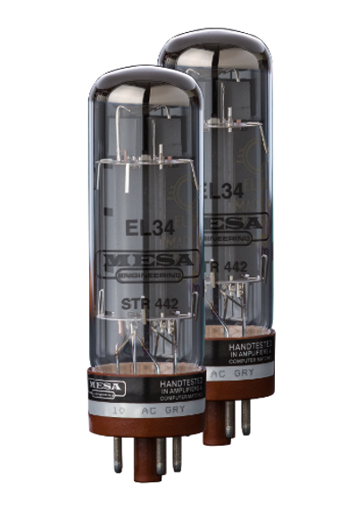 Power Tubes - EL34/6CA7 STR 442- NOS Winged C (SED) - Matched Pair