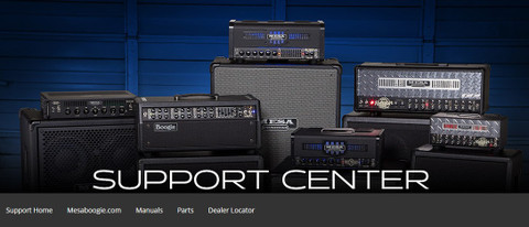 Visit the MESA/Boogie Support Center for answers to frequently asked questions.