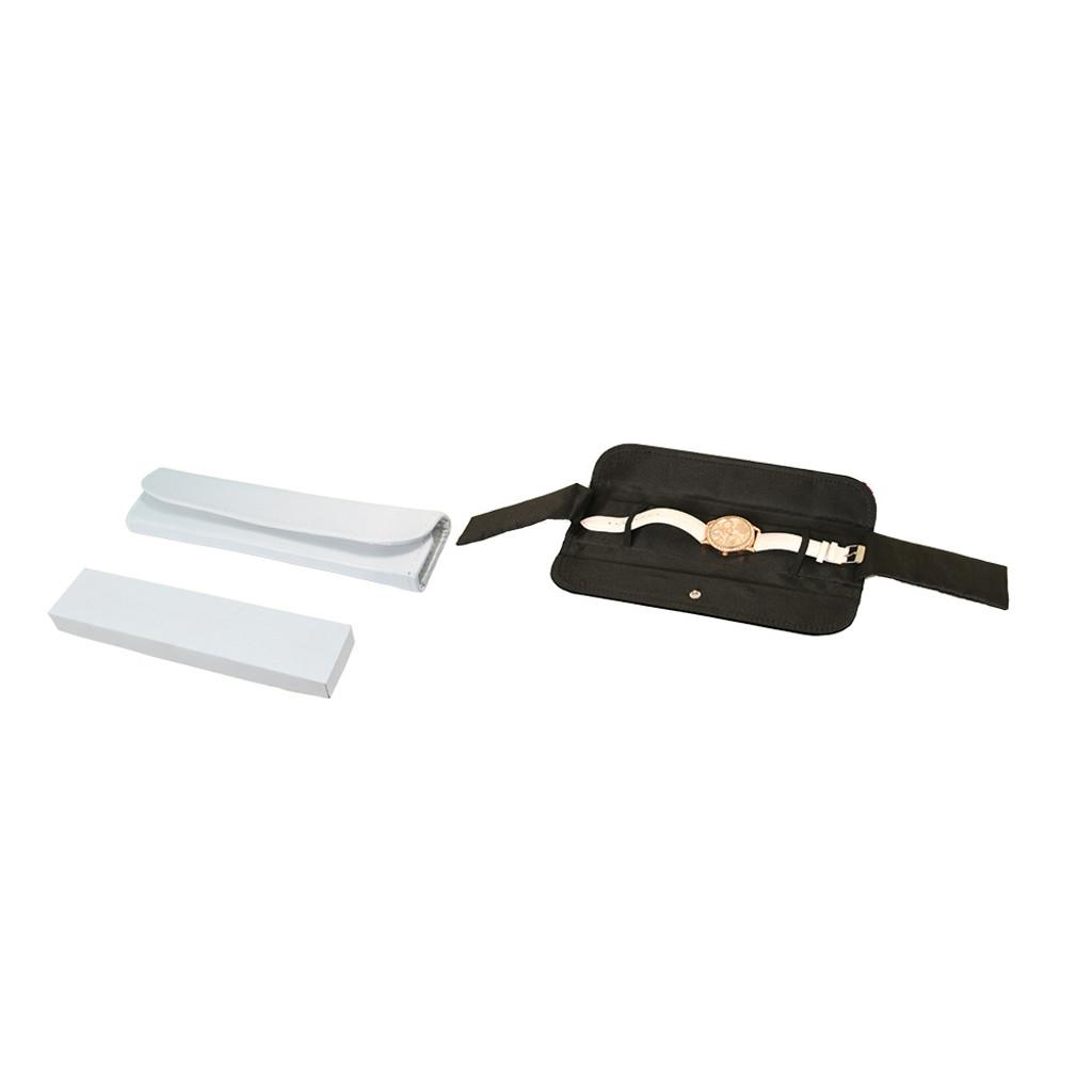 """Bracelet/Watch Folder, 2 1/4"""" x 9 1 /2"""", Leatherette with Satin,"""