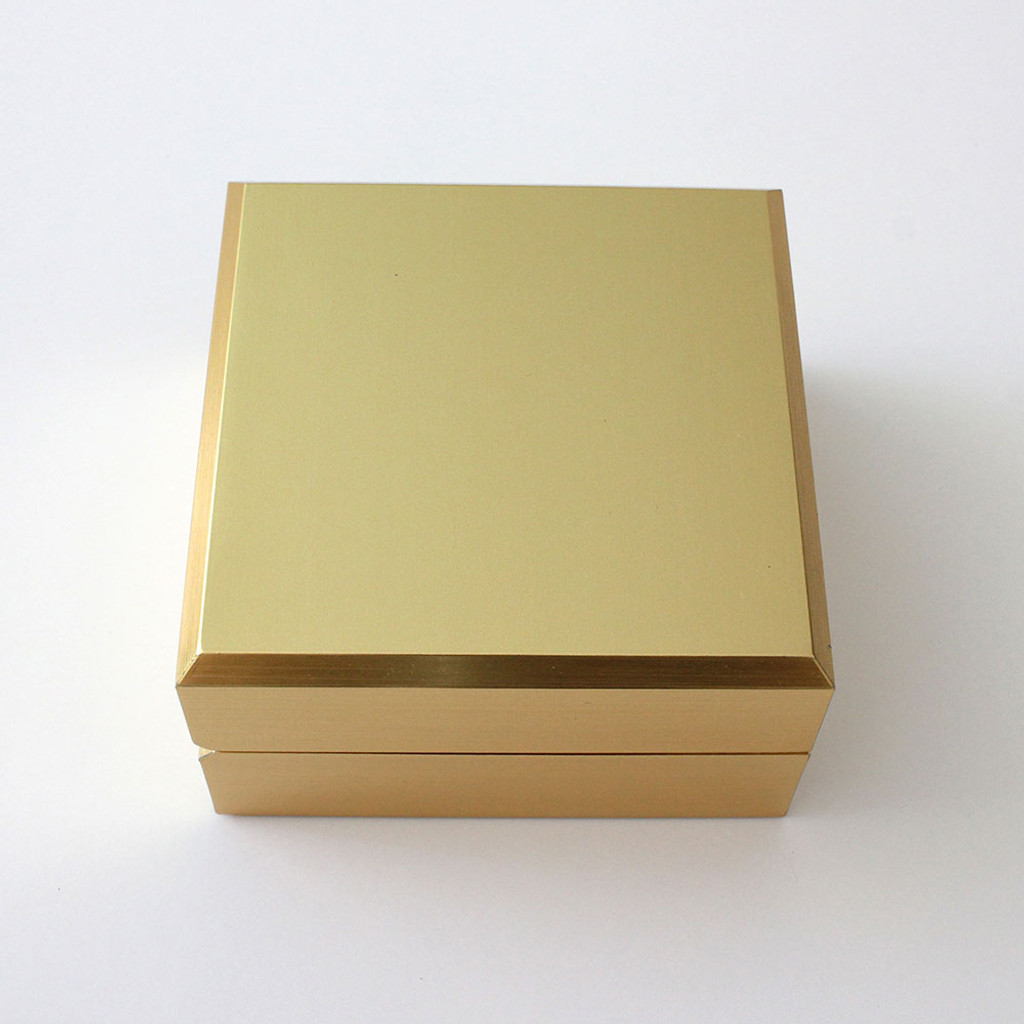 Elegant Gold Earring-Pendant Box (AAE5-GD)