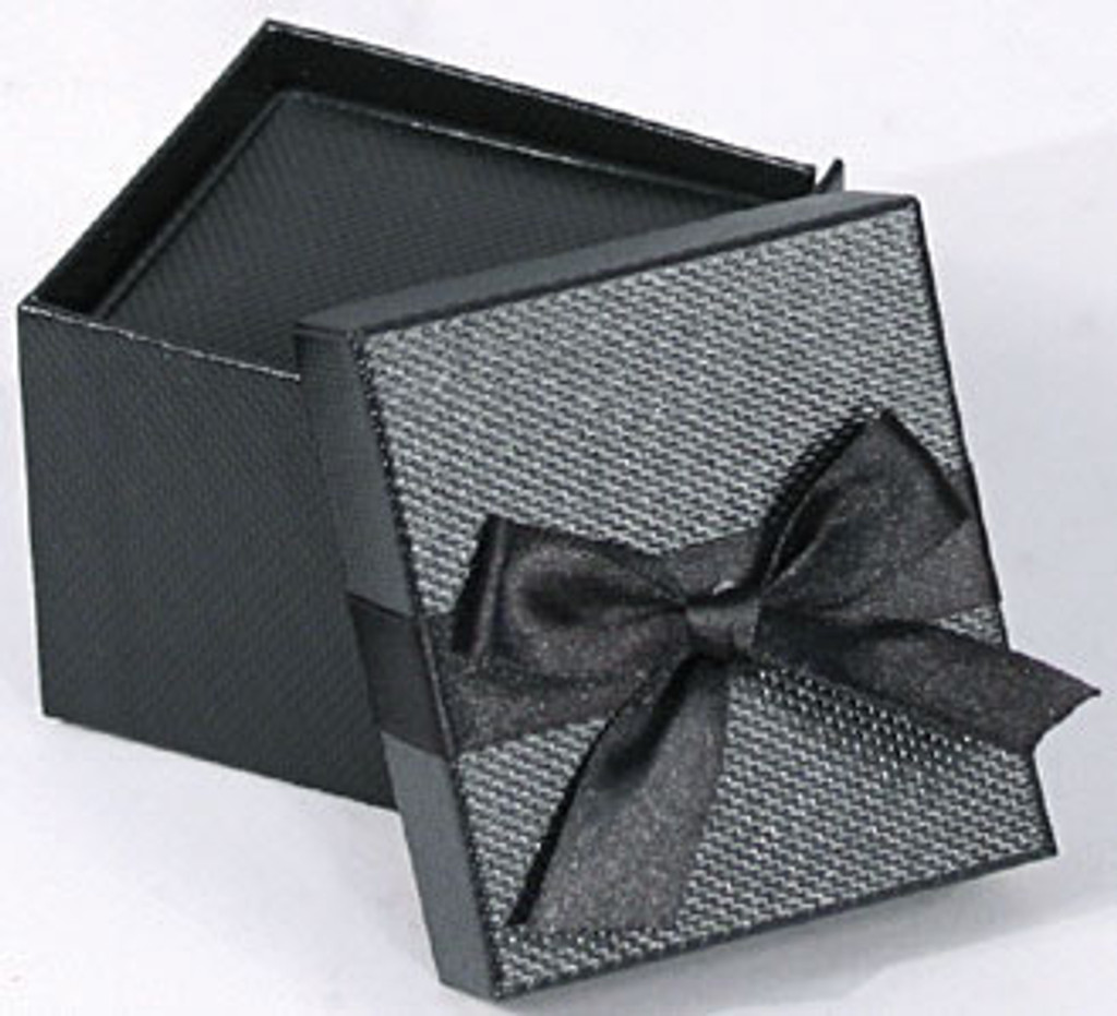 Elegant Ring Box with Ribbon , Choose from various Colors