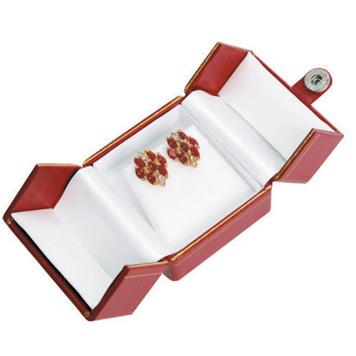"Classic Style Earring Box, 2"" x 1 5/8"" x 1 3/8"" , Choose from various Color"