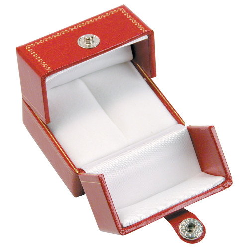 "Classic Style Ring Box, 2"" x 1 5/8"" x 1 3/8"" , Choose from various Color"