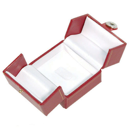 "Classic Style Ring-Clip Box, 2"" x 2 1/8"" x 1 3/4"" , Choose from various Color-"