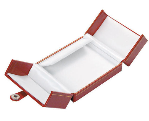 "Classic Style Clip-Earring Box, 3 1/2"" x 3"" x 1 1/2"" , Choose from various Color"