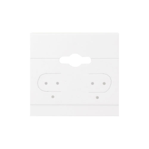 "Hanging Earring Card (Plain BX578) 1 1/2""x 1 1/2"""