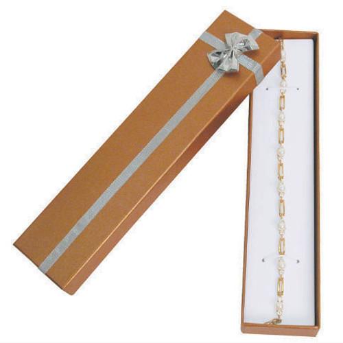 "Bangle-Bracelet Box , 8"" x 1 7/8"" x 1"", Choose from various Color"