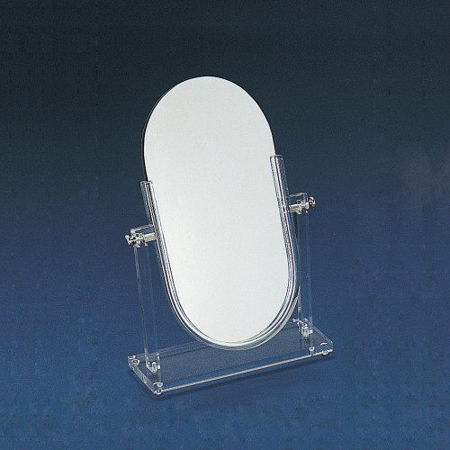 "Double Side Glass Mirror, 14 1/4"" x 19 1/2""H"