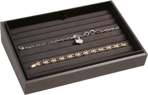 "2"" H Slanted Bracelet Tray,  9"" x 6"" x 2 1/4"" H TY-2103 (78R)"