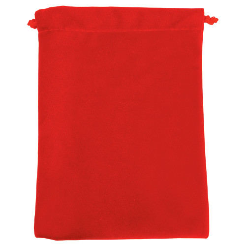 "4"" x 5"", Deluxe Red Velvet Drawstring Pouches, price for Dozen,Buy More Save More"