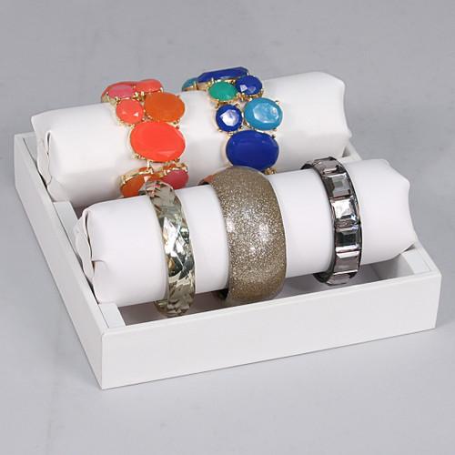 """Bracelet / Watch Tube Tray, 7 7/8"""" x 8"""" x 3 1/4""""H"""